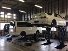 提携先指定工場にて、しっかり整備して納車いたします!!