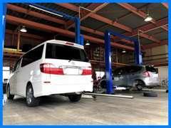 整備工場あります!車検・整備・点検もお任せ下さい。農機具やお車以外のご相談も承ります。