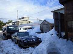 初雪にして大雪でした(^^;早いもので今年も残りあとわずかですね
