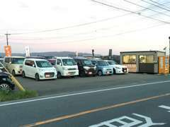 軽自動車中心に並べております!