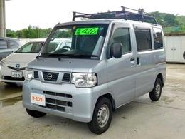 日産 NV100クリッパー 660 DX 5MT・ルーフキャリア・エアコン・キーレス