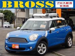 ミニ ミニクロスオーバー クーパー 関東仕入 検3年5月 走行3.3万km 1オーナー