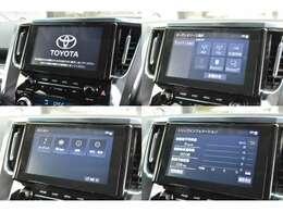 スマホ連携が可能な9インチのディスプレイオーディオが標準装備!対応のアプリを画面に表示・操作可能でLINEカーナビでは音声認識で目的地設定や、音楽再生も可能。バックカメラ・ラジオ・Bluetoothも標準装備です。