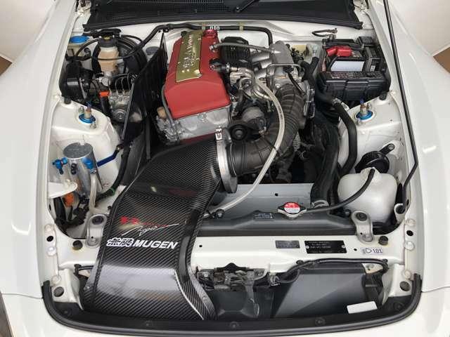 【パワートレイン関連カスタマイズ1】・SPOON ハイカム・無限ハイパフォーマンスエアクリーナー・無限エキゾーストマニホールド・J's RACING製70RSマフラー