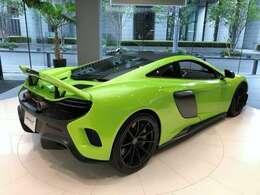 675LT専用カラー ネイピアグリーン