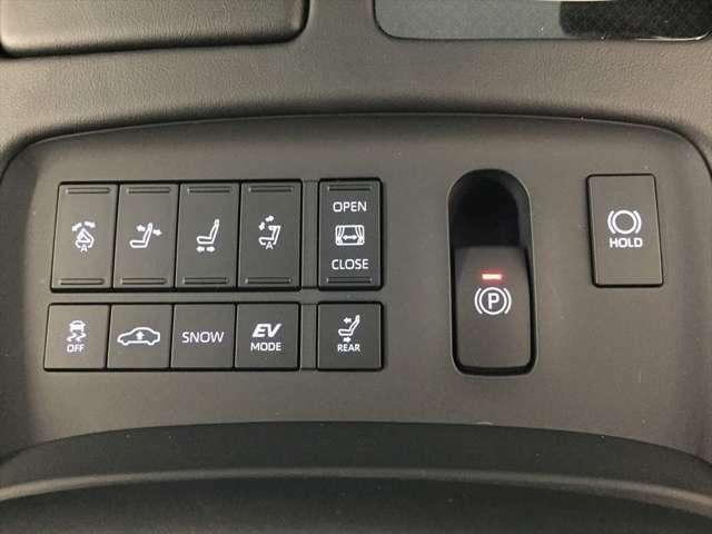 フロントシートからリヤシートの環境を変えることが出来ます。