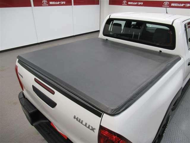 ソフトトノカバー装備で荷台を雨等よりガード!荷台の汚れ防止に貢献です!