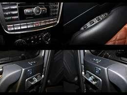 フロントシートには、シートヒーター/クーラー、ベンチレーターを装備。リアシートには、シートヒーターを装備しております。