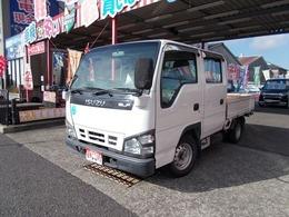 いすゞ エルフ 3.1 ダブルキャブ フラットロー LTD ディーゼル 5速MT