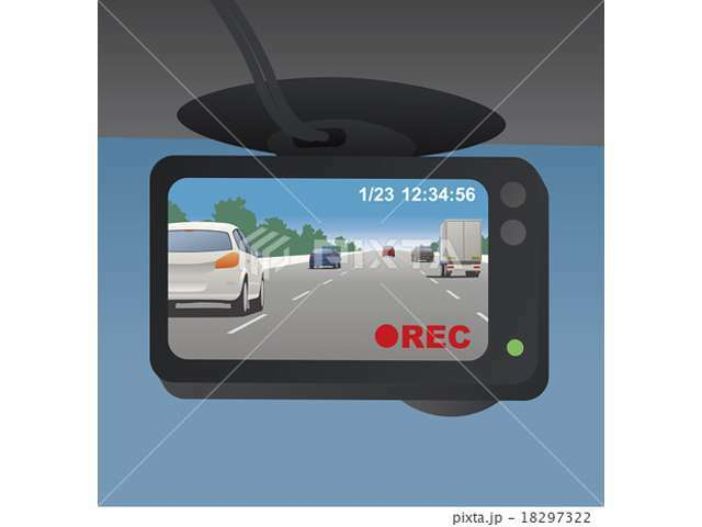 Aプラン画像:万が一の時に必要なドライブレコーダープランです。前後タイプもご用意しておりますのでお任せください!