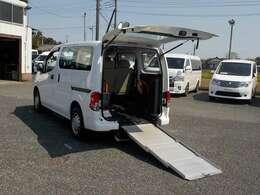 リアスロープ車です。個人でお使いの方もお仕事でお使いの方も是非ご相談下さい。