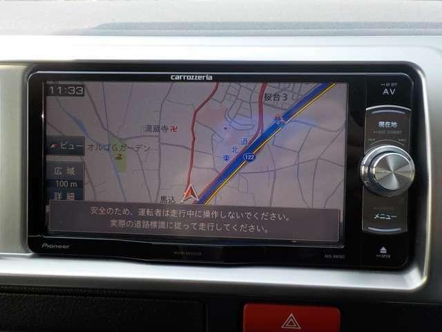 社外メモリーナビTV CD&DVDも再生可! Bluetoothもついてます!