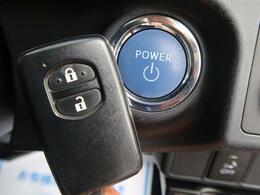 【スマートキー・プッシュスタート】キーをポケットやカバンに入れたままでも、解錠・施錠・エンジン始動が可能です!