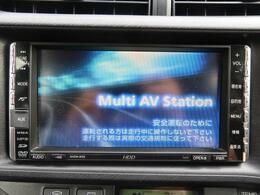 純正HDDナビを装備!【CD・DVD・SD・HDD】が再生可能です!