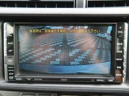 【バックカメラ】運転席から画面上で安全確認ができます。駐車が苦手な方にもオススメな便利機能です。ステアリング連動なのでより安心して駐車可能です☆彡
