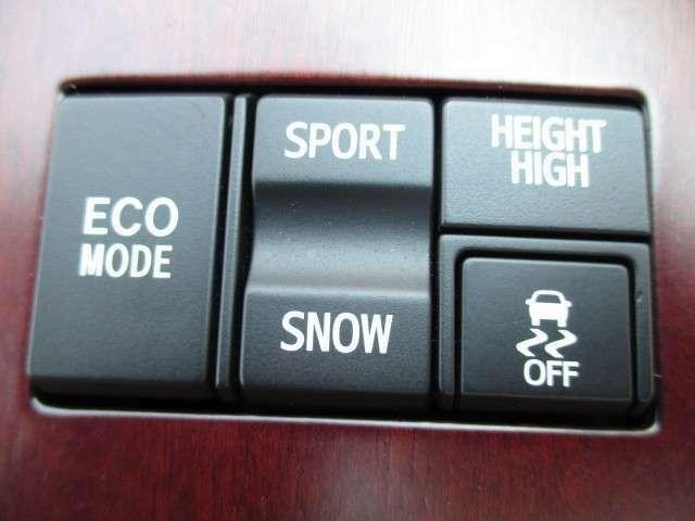 ☆ECOモード スポーツ&スノーモード☆