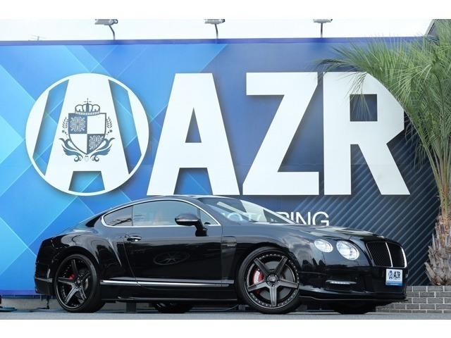 2012y ベントレーコンチネンタルGT V8 正規ディーラー車 マリナーPKG MANSORYフロエアロ SKY鍛造AW ローダウン ツートンレザーステアリング コーナーセンサー 入庫しました!!