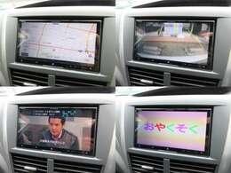 カロッツェリアメモリーナビが装備されております♪画面もクリアで運転中も確認しやすいです♪フルセグTVとDVDの視聴もお楽しみ頂けます♪バックカメラも装備されているので駐車の時も安心安全です♪
