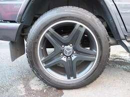 G63仕様AMG製20インチAWをSET!!タイヤは4本共にダンロップ製高級SUV用グラントレックで約8分残溝御座います。