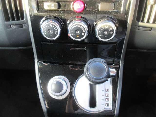 2WD→4WDへの切り替えもダイアルで簡単に操作できます