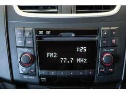 CDラジオで音楽もたのしめます。