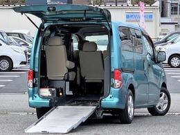 日産 NV200バネット 1.6 16S チェアキャブ 車いす1名仕様 専用サードシート有 /定員7名ナビ/BT/車検受渡