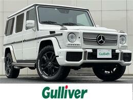 メルセデス・ベンツ Gクラス G500L 4WD 一部G63仕様/天張張替済/黒革/AMGマフラー
