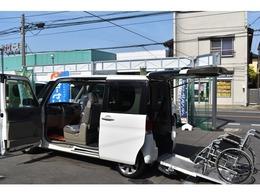 ダイハツ タント 660 フレンドシップ スローパー リヤシート付仕様 福祉車両 電動固定装置 エコアイドル