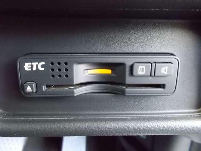 ビルトインタイプの【ETC】で見た目もスッキリ。高速道路の利用にとても便利です♪