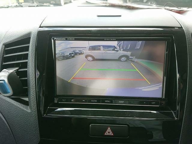 バックカメラ装備で駐車の際も安心です!