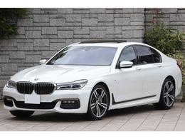 BMW 7シリーズ 750i Mスポーツ 左ハンドル 茶革 純正20AW ワンオーナー