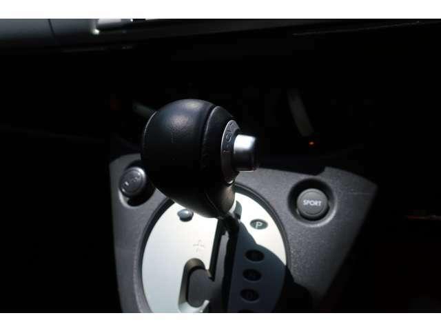 MT感覚でシフトチェンジできます。さらに、かっこいい!MT車が少なくなってきた現在に、面白さをとり入れた装備です。