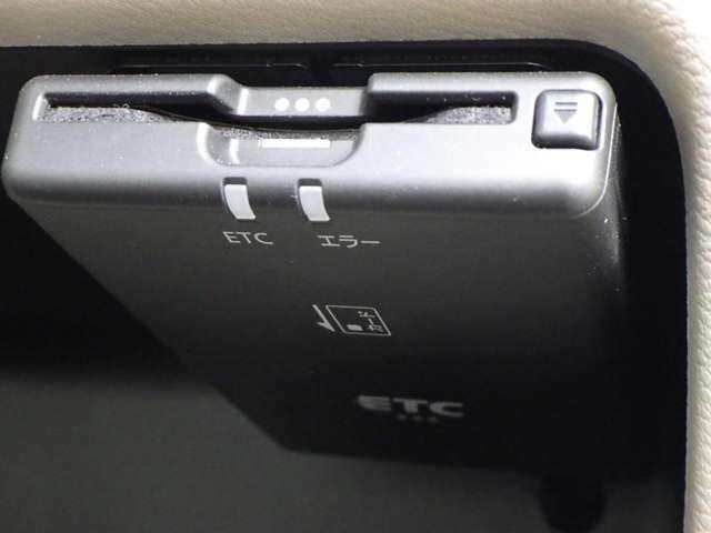ETC車載器付いてます。