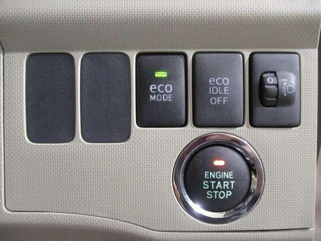 エンジンスタ-トはプッシュボタン式です!