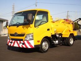 日野自動車 デュトロ バキュームダンパー 東急 清掃車