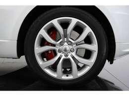 純正21インチ5スプリットスポークAWは車体との相性もばっちりです!