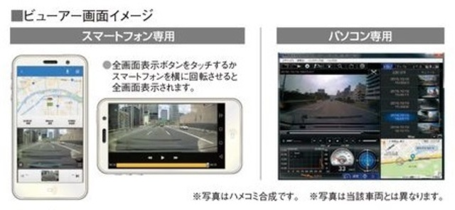 Bプラン画像:スマートフォンでの再生には、専用アプリをインストールする必要があります。