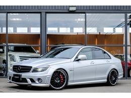 AMG Cクラス C63 V8 6.2L/サンルーフ/ETC/黒革/ローダウン