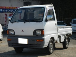 三菱 ミニキャブトラック 660 TD 三方開 4WD マイティ