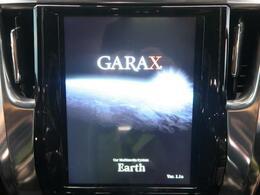 GARAXカーマルチメディア装備でございます!12.1インチの縦長大型タブレット!スマホ連動で最新機能が満載です!