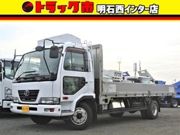 UDトラックス コンドル アルミブロック 積載量4300キロ 荷台床板張り 6速MT