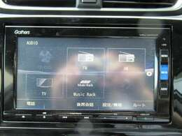 純正ギャザズメモリーナビ(VXU-205CVi) フルセグTVを装着しています。