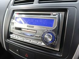 【2DINオーディオ】2DINオーディオ搭載。CD再生、AM/FMラジオが使えるオーディオです。