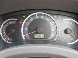 メーター周り 走行距離は約63.600キロ!