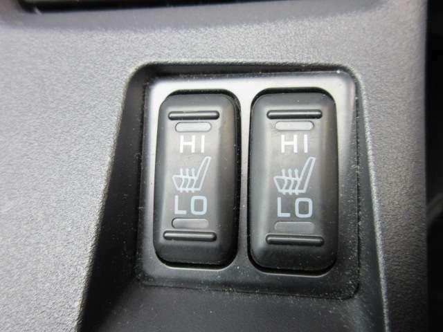 シートヒーター機能付き♪ 寒い日でも快適な運転ができますね♪
