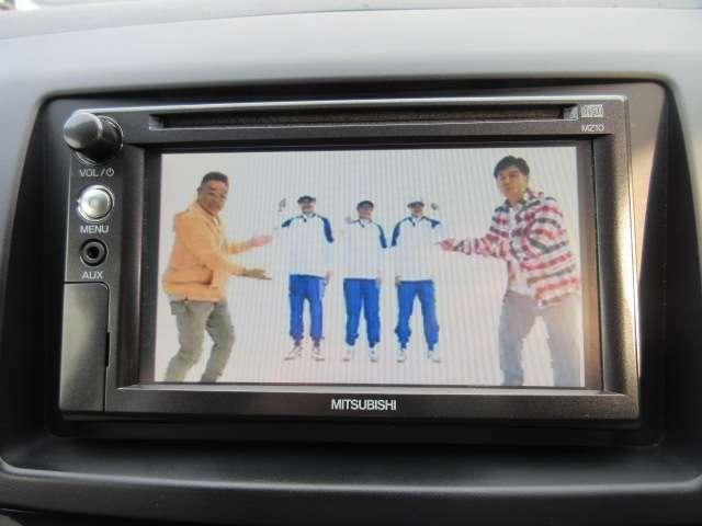 純正SDナビ付き♪ CD再生&ワンセグTV付き♪ 楽しく運転できますね♪
