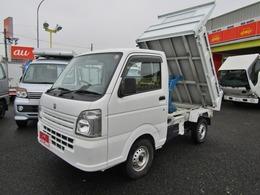 スズキ キャリイ 660 頑丈ダンプ 3方開 4WD ヤシマ製ダンプ アオリ補強柱 オートマ車
