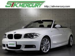 BMW 1シリーズカブリオレ 120i Mスポーツパッケージ 1オーナー黒レザーキセノンETCシートヒータ