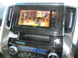 テレビの映りも良く、運転中も快適です。