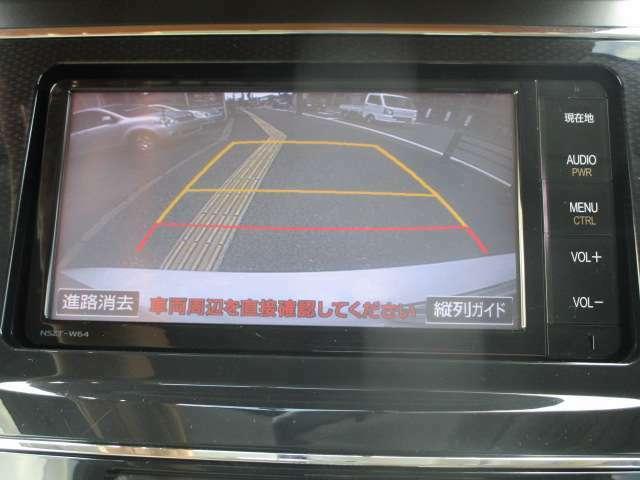 バックカメラ!駐車時の後方確認